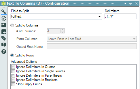 Basic text tokenisation with Alteryx – Dabbling with Data