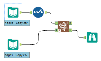 Alteryx network viz workflow